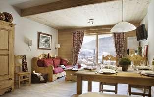 Week-end détente en famille au ski à la Clusaz (2 nuits jusqu'à 6 personnes)