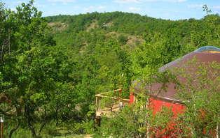Offre Spéciale: Week end insolite en yourte dans la vallée du Lot, près de Cahors (2 nuits min)