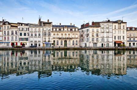 Week-end au bord de l'eau, à Bayonne