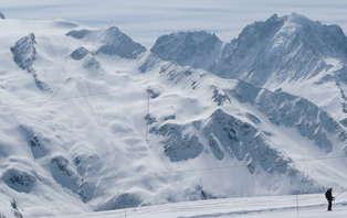 Week-end ski avec forfait et accès spa à Vallorcine