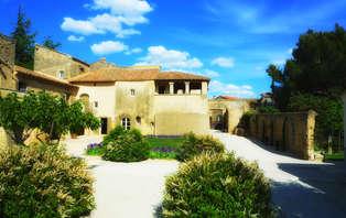 Week-end de luxe avec massage en junior suite dans un hôtel de charme près du pont du Gard