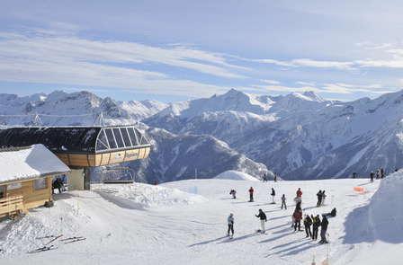 Week-end ski en pension complète avec forfait 2 jours à Praloup