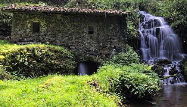 Escapada rural con visitas a sidrería y quesería en Villaviciosa (desde 2 noches) en Weekendesk por 55.00€
