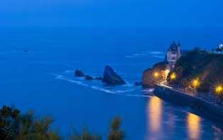 Offre spéciale Nouvel An: Week-end avec dîner et soirée du Nouvel An en bord de mer, à Biarritz