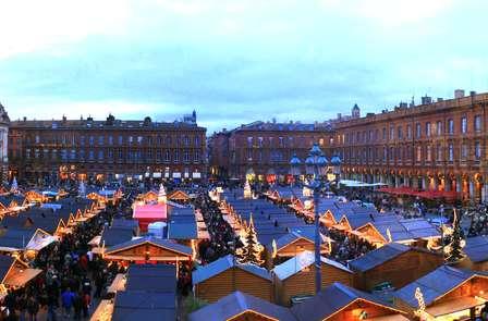 Fêtes de fin d'année avec champagne au cœur de Toulouse