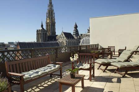 Week-end shopping dans un bâtiment historique à Anvers (parking inclu)