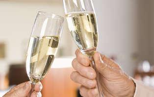 Offre Saint Valentin: week-end romantique dans un chateau avec bouteille de champagne et chocolats