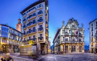 Minivacaciones relax en Pamplona con spa, degustación de pinchos y bicis (desde 3 noches)