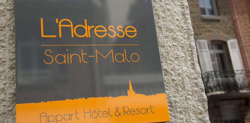 Appart hotel l 39 adresse h tel de charme saint malo 35 for Appart hotel venise