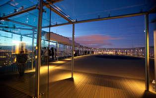 Montez sur le plus haut toit de Paris le temps d'un week-end (50% de remise à partir de la 2ème nuit