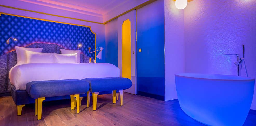 idol hotel by elegancia h tel de charme paris. Black Bedroom Furniture Sets. Home Design Ideas