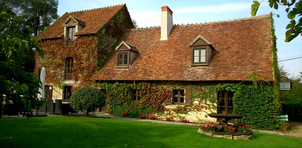 Rds h tel restaurant le moulin de cham ron h tel de for Restaurant le jardin 02190 neufchatel sur aisne