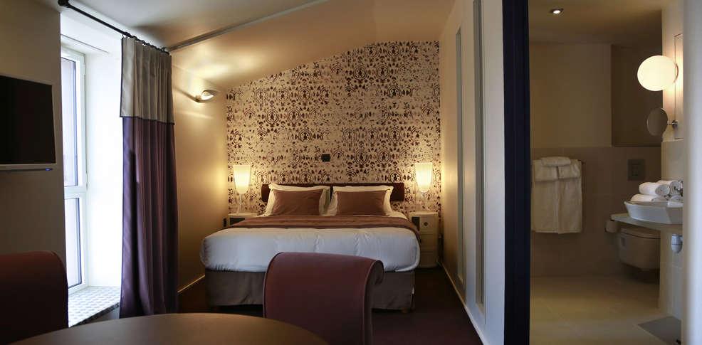 Appart hotel l 39 adresse h tel de charme saint malo 35 for Apparthotel bretagne
