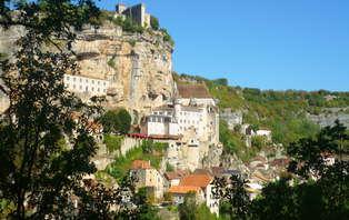 Week-end romantique au coeur de la nature, dans la belle cité de Rocamadour
