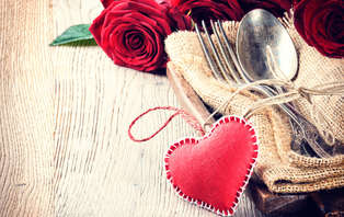 Offre spéciale Saint-Valentin : Weekend romantique avec dîner près de Valence