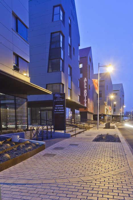 Week end en ville dunkerque avec acc s la salle de for Week end appart hotel