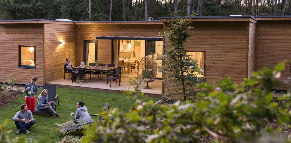 H u00f4tel Center Parcs Domaine du Bois aux Daims, h u00f4tel de charme Morton # Plan Cottage Center Parc Bois Aux Daims
