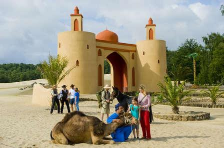 Weekend met het hele gezin inclusief toegang tot attractiepark Mer de Sable