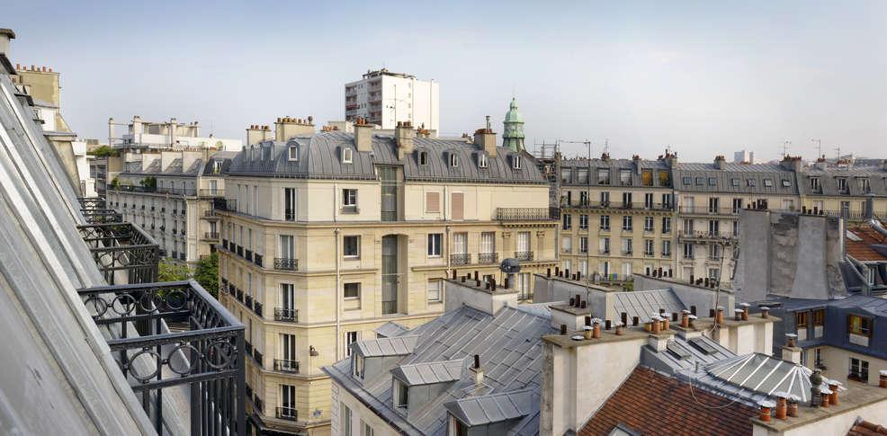 H tel le mareuil h tel de charme paris 75 for Hotel paris 75