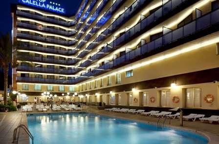 Alojamiento descanso y desayuno en un hotel en Calella (desde 3 noches)