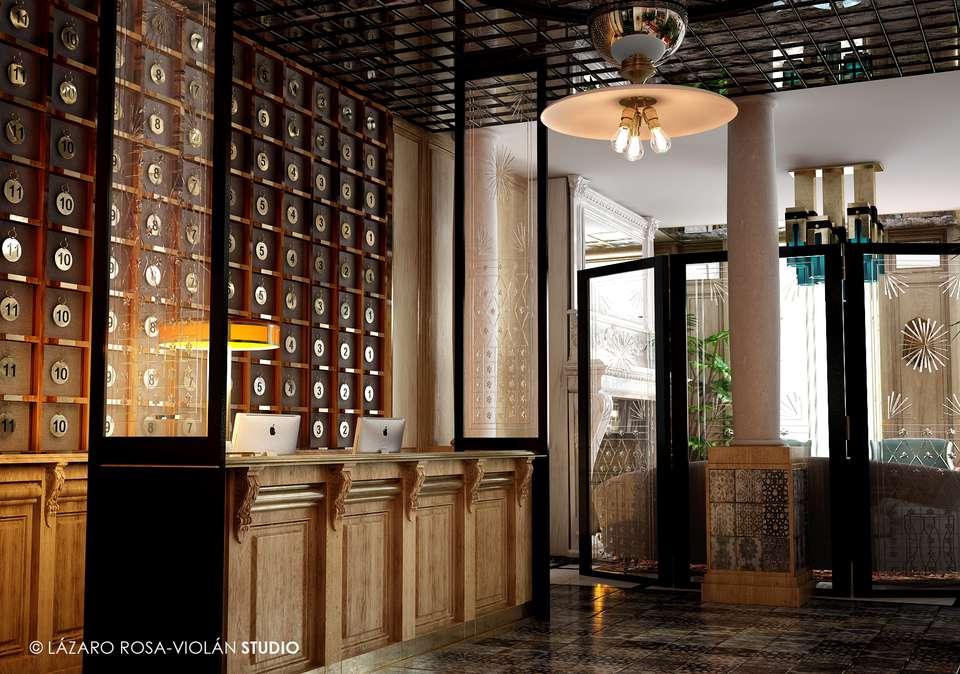 Boutique Hotel H10 Villa de la Reina - LOBBY0019.jpg