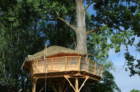Week-end insolite dans une cabane dans les arbres, à 1h de Lyon