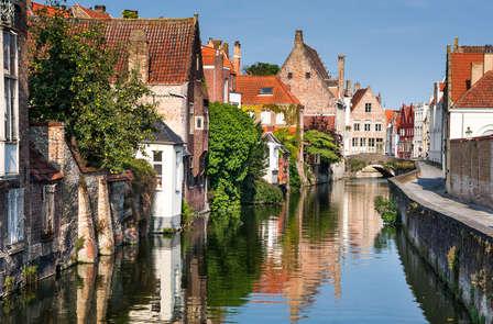 Week-end en chambre de luxe au bord des canaux à Bruges