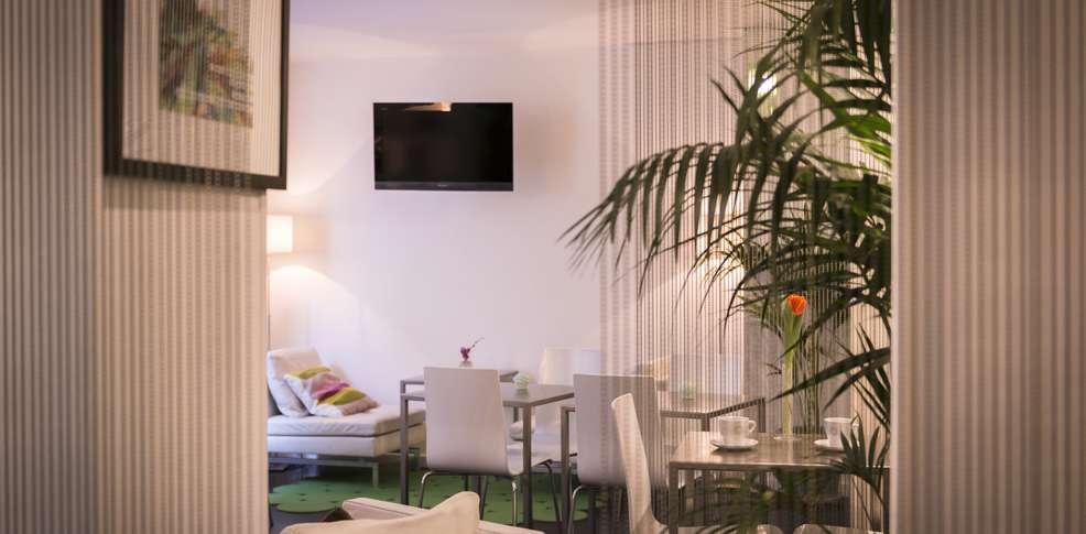 H tel glasgow monceau h tel de charme paris for Reservation hotel a paris gratuit