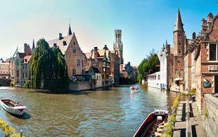 Nuit en la beaux ville de Bruges