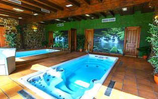 Escapada relax con spa privado y cena en el Valle de Cabuérniga (desde 2 noches)