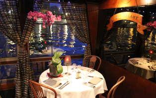 Week-end détente avec diner-croisière sur la Seine à la Marina de Paris