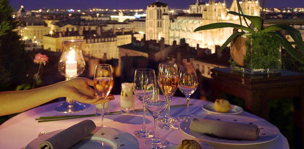 H tel villa florentine h tel de charme lyon for Restaurant terrasse lyon