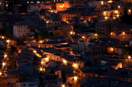 Escapada con visita nocturna en Toledo