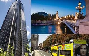 Exclusif tout Paris en un Week-end: Open Tour, Croisière sur la Seine et  Tour Montparnasse