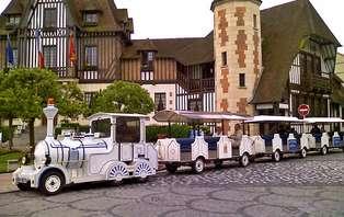 Week-end en famille avec découverte de Deauville en petit train