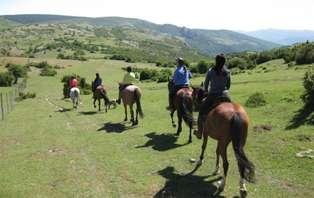 Escapada con paseo a caballo y cena en Aracena