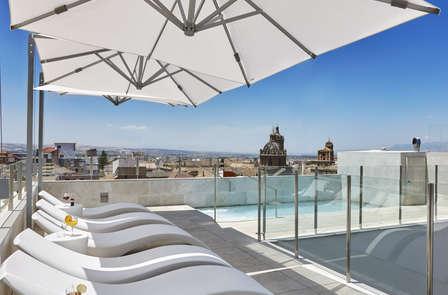 Especial mejores terrazas: escapada con copa incluida en hotel de diseño