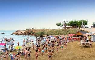 MiniVacaciones en la Playa: Disfruta del Mediterráneo con pensión completa y spa ( desde 4 noches)