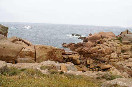 Week-end à Trégastel à 300 mètres de la côte de granit rose