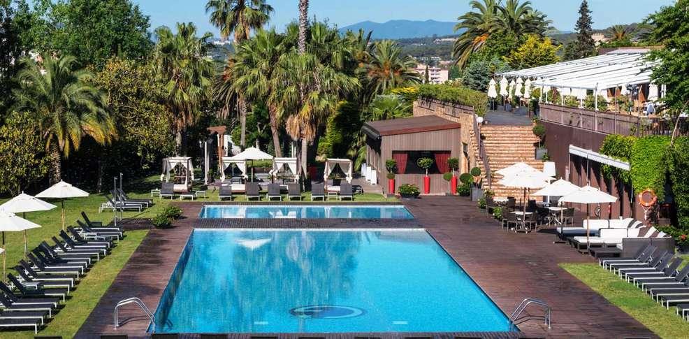 gran hotel monterrey h tel de charme lloret de mar. Black Bedroom Furniture Sets. Home Design Ideas