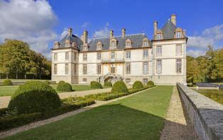 Escapada romántica en habitación Prestigio en un castillo a 50 minutos de París