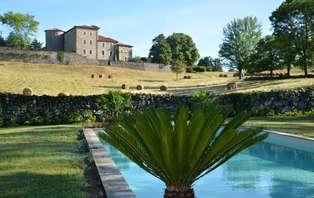 Offre Spéciale Eté: Week-end romantique dans un château en Ardèche, près de Valence (2 nuits min)