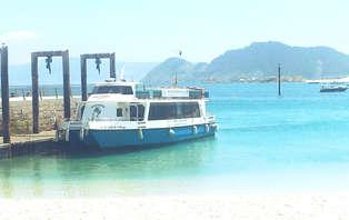Escapada romántica en Galicia con crucero a las Islas Cíes y acceso a spa privado