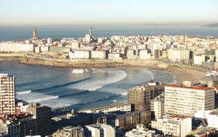 Escapada romántica frente al mar en La Coruña