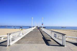 Offre Spéciale: Week-end détente & spa en chambre avec balcon en bord de mer, à Arcachon