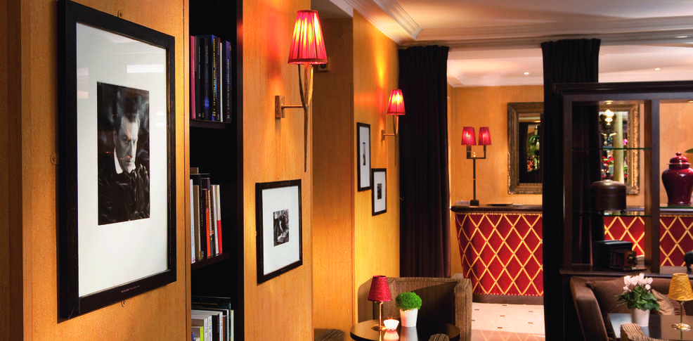 H tel lenox montparnasse h tel de charme paris for Paris hotel de charme