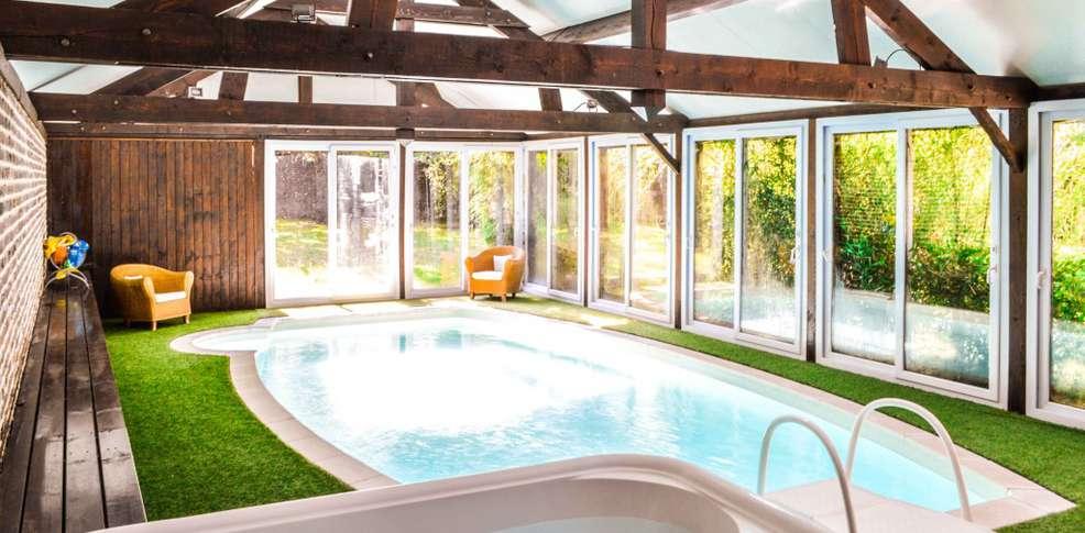 Hotel les granges d 39 haillancourt charmehotel haillancourt for Hotel avec piscine interieur