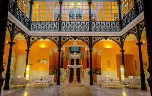 Romanticismo con cena en un palacete del S.XIX
