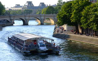 Week-end découverte au coeur de Paris avec une croisière sur la Seine