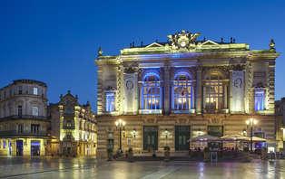 Week-end dans un hôtel 4* sur la célèbre place de la Comédie en plein coeur de  Montpellier